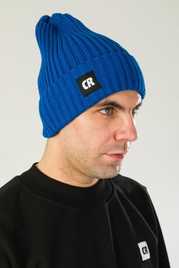 Rib Mix Hat Cornflower Blue