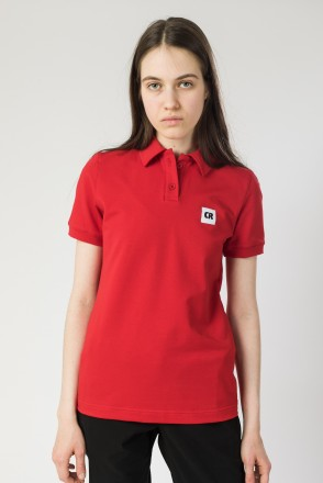 Поло Side Красный