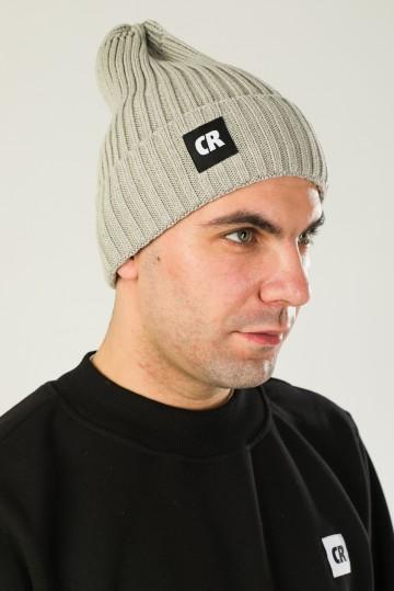 Rib Mix Hat Ash Gray