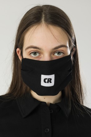 C Mask Black French Terry