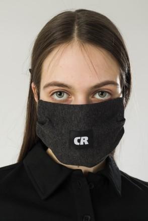 C Mask Anthracite Melange