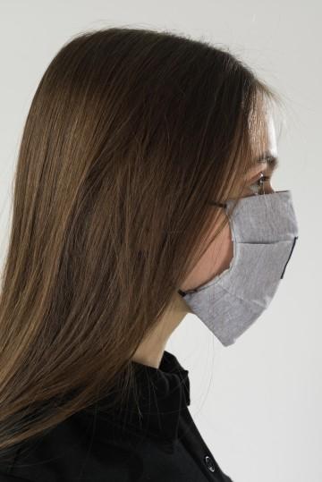 Маска C Mask Серый Меланж