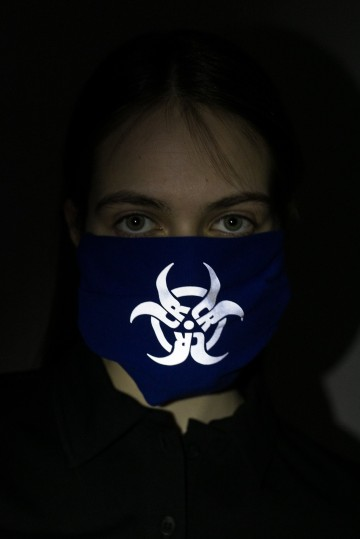 Маска Biocrazzard Синий