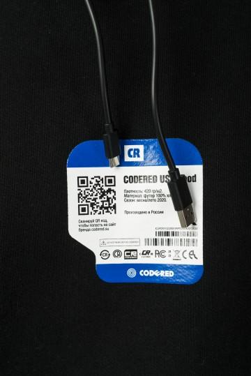Толстовка USB Hood Черный
