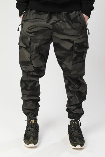 Штаны Cuffs 2 Серо-Черный Камуфляж