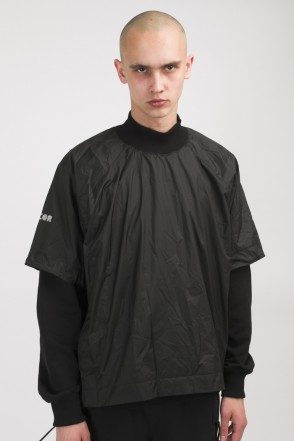 Mem T COR T-shirt/Windbreaker Black
