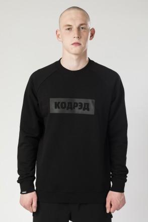 Firm Summer Crew-neck Black Boxlogo Cyrillic