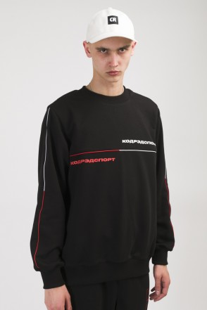 Piping Crew 2000 Crew-neck Black/Red/White