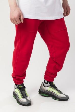 Runner Summer Pants Red