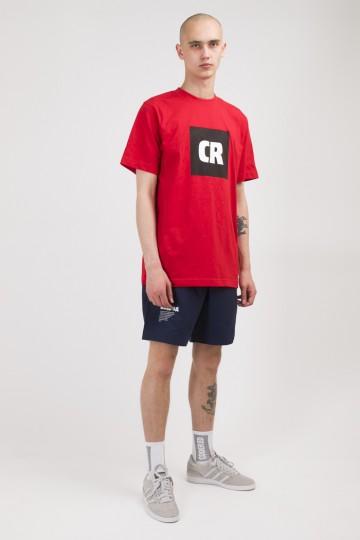 Футболка Regular CR Cube Logo Красный