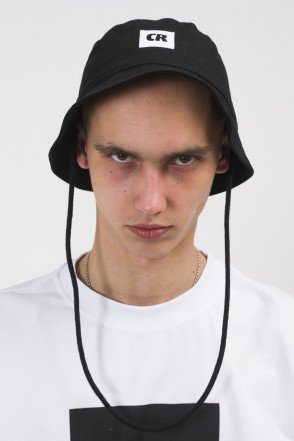 Bucket Hat Black Canvas