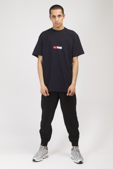 T+ CR / Crime / Grime T-shirt Black