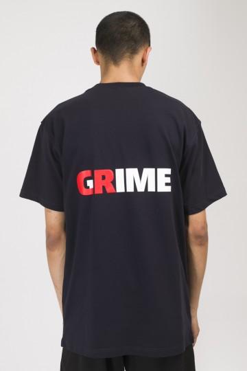 Футболка T+ CR / Crime / Grime Синий Чернильный