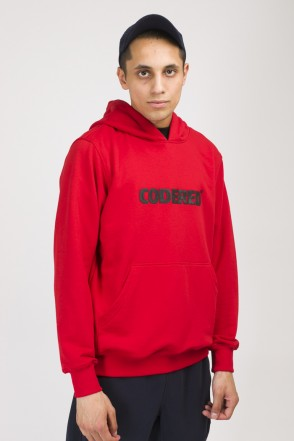 Base Hoodie Summer Logo R Red