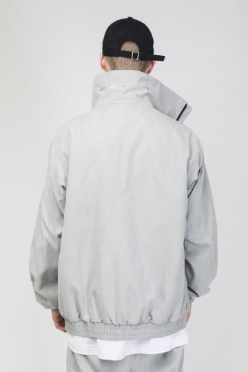Stripe Track Jacket  2019 Light Gray