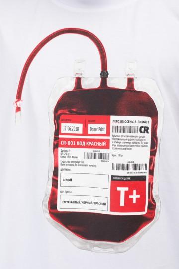 Футболка T+ Donor Белый