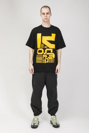 T-Shirt  Letter Kit Black