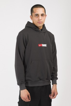 Base Hoodie Summer Crime Grime Dark Gray