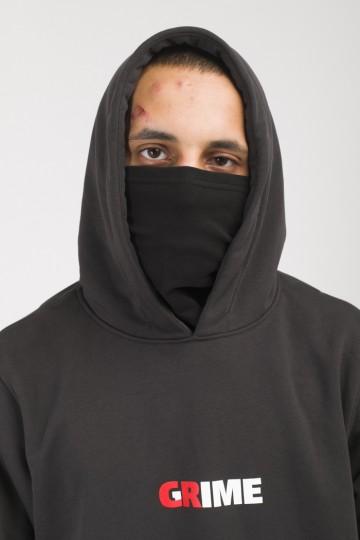 Толстовка Base Hoodie Summer Серый Темный CR/Crime/Grime