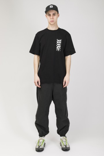 Футболка T-Shirt Cyrillic Mix Back Pattern Черный