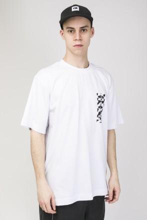 Футболка T-Shirt Cyrillic Mix Back Pattern Белый