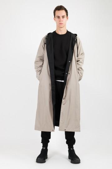 Плащ 4coat Серый Бежевый
