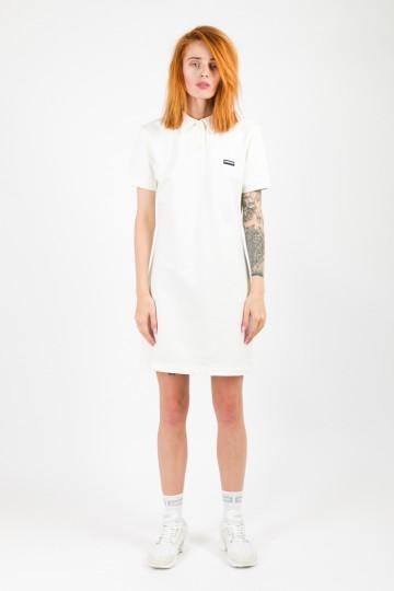 Платье с коротким рукавом Adress Экрю