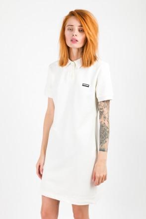Adress Polo Dress Ecru