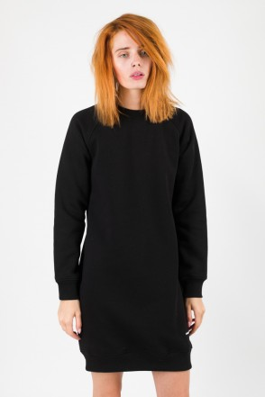 Clean Dress Crew-neck Black