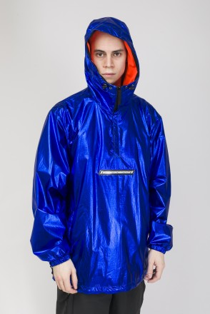 Astral Anorak Blue Metallic/Orange Fluorescent