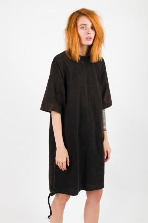 Superlong T Lady GD COR T-shirt Black/Orange