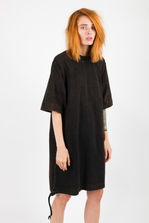 Superlong T Lady GD COR T-shirt Black/Orange
