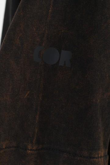 Футболка Superlong T Lady GD COR Черный/Оранжевый