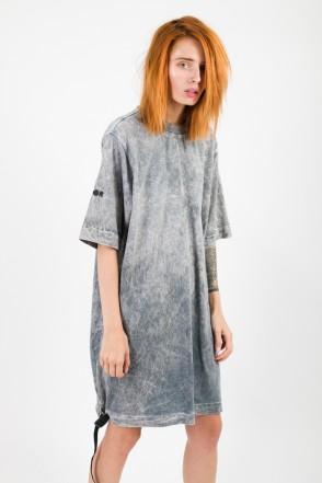 Superlong T Lady GD COR T-shirt Milk White/Light Gray