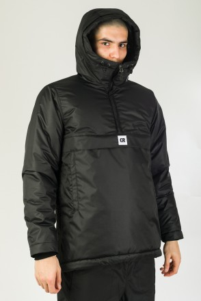 Chrome 4 Anorak Black