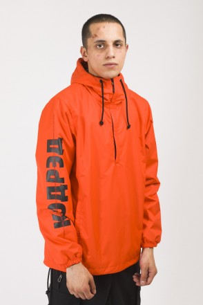 Font 3 Anorak Cyrillic Crossline Orange