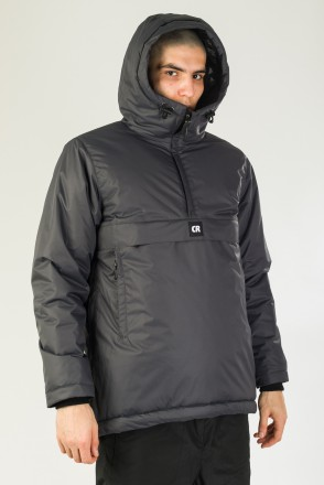 Chrome 4 Anorak Anthracite
