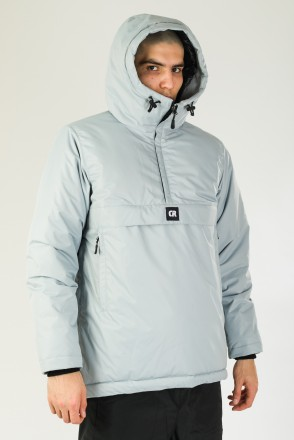 Chrome 4 Anorak Light Gray
