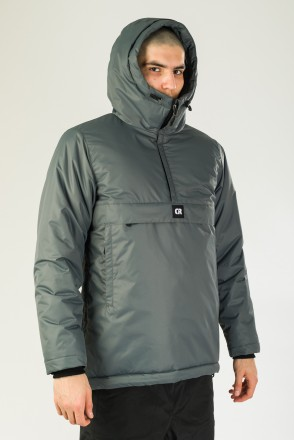 Chrome 4 Anorak Dark Gray