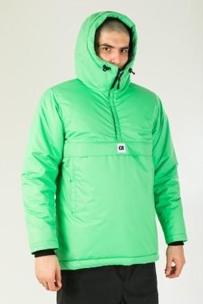 Куртка-Анорак зимняя Chrome 4 Зеленый Светлый