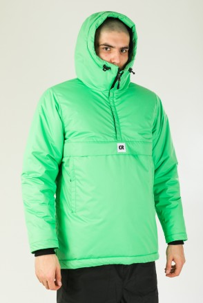 Chrome 4 Anorak Light Green
