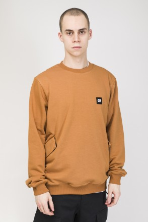 Shadow Crew Crew-neck Sandy