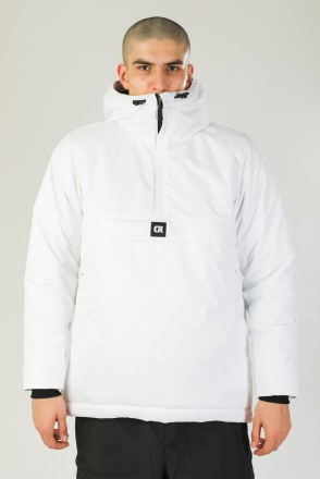 Chrome 4 Anorak White