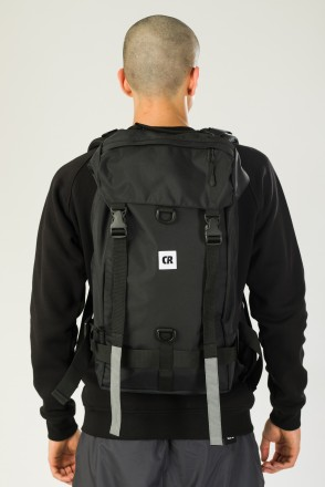 Wildstyle City 2 Backpack Black Taslan