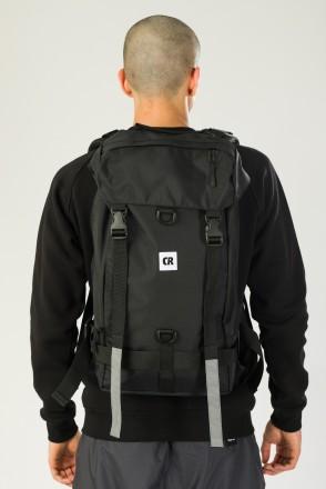 Wildstyle City 2 Backpack Black Taslan