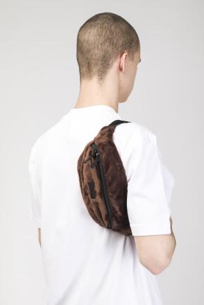 Hip Bag Brown Fur