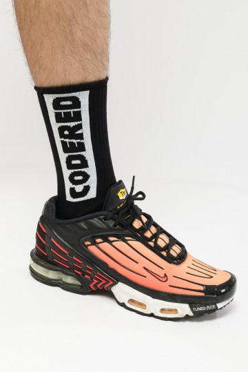 Носки Vertical Tonal Box Socks Черный