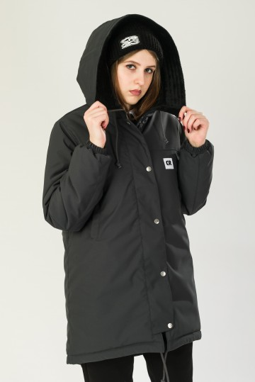 Куртка Женская Зимняя Bluebell 3 Серый Темный