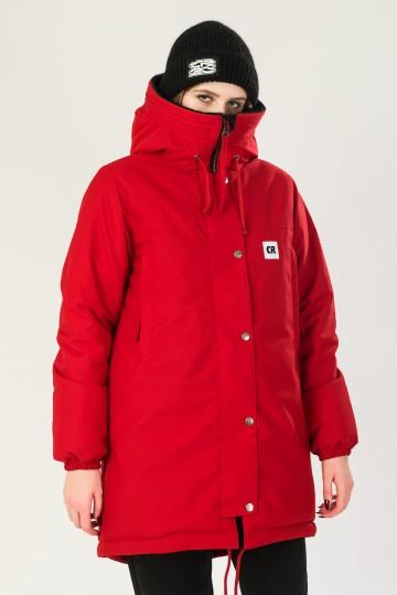 Куртка Женская Зимняя Bluebell 3 Красный