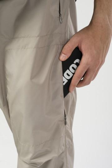 Штаны утепленные Basement Pants Серо-бежевый
